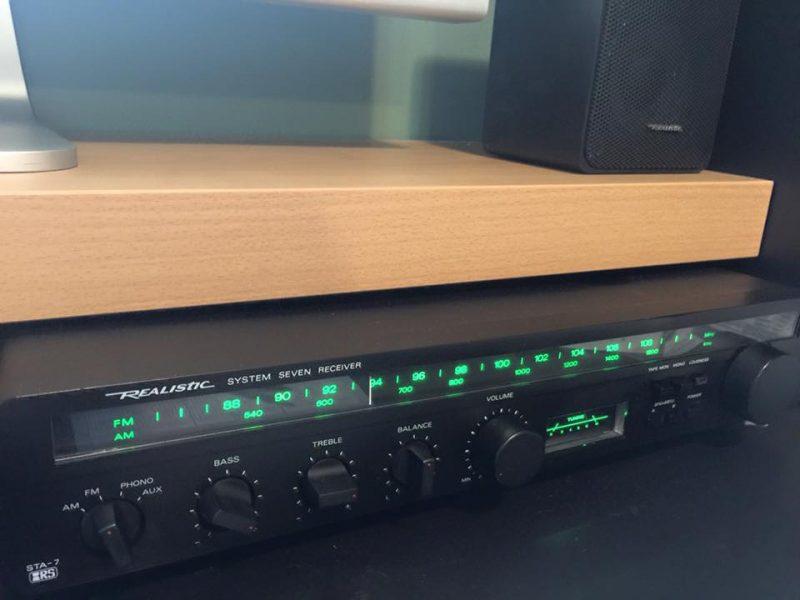Realistic STA-7 System 7 reciever